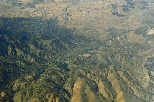 Above the Garlock fault, Kern County, California