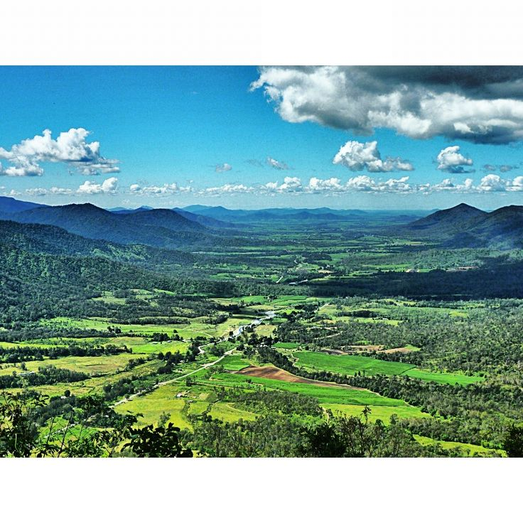 Eungella, looking down the Valley.