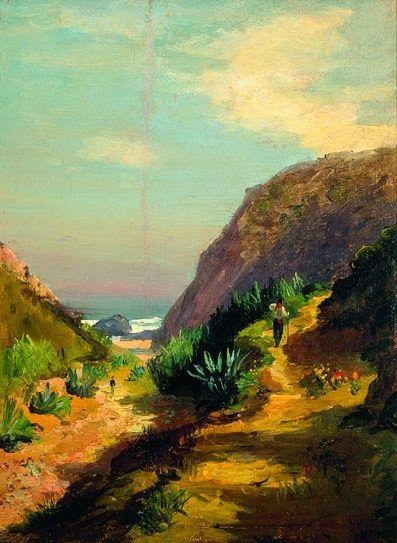 Caminho para a praia da Adraga - Alfredo Keil
