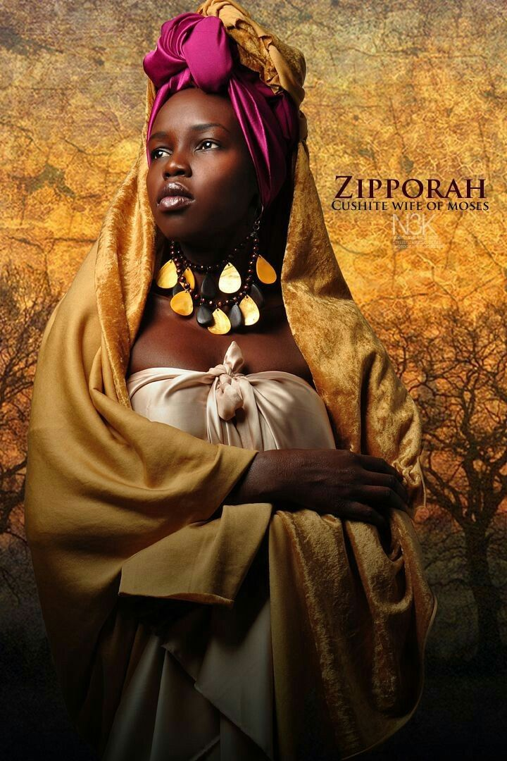 moses and zipporah relationship