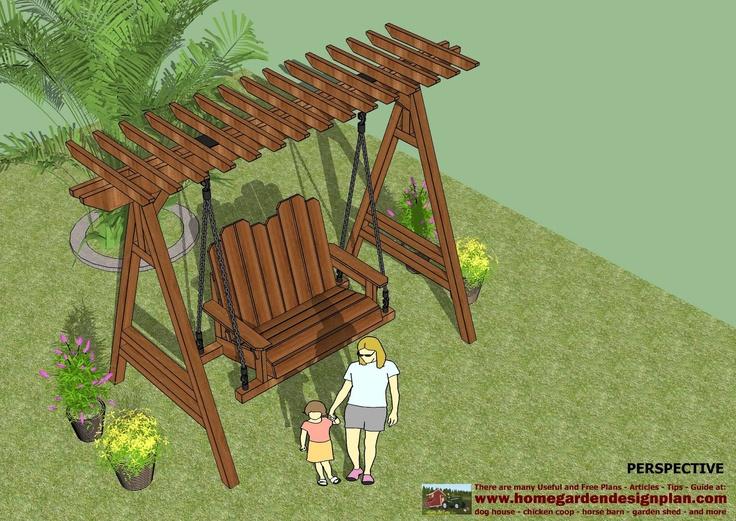 37 best Garden swing images on Pinterest Garden swings Back