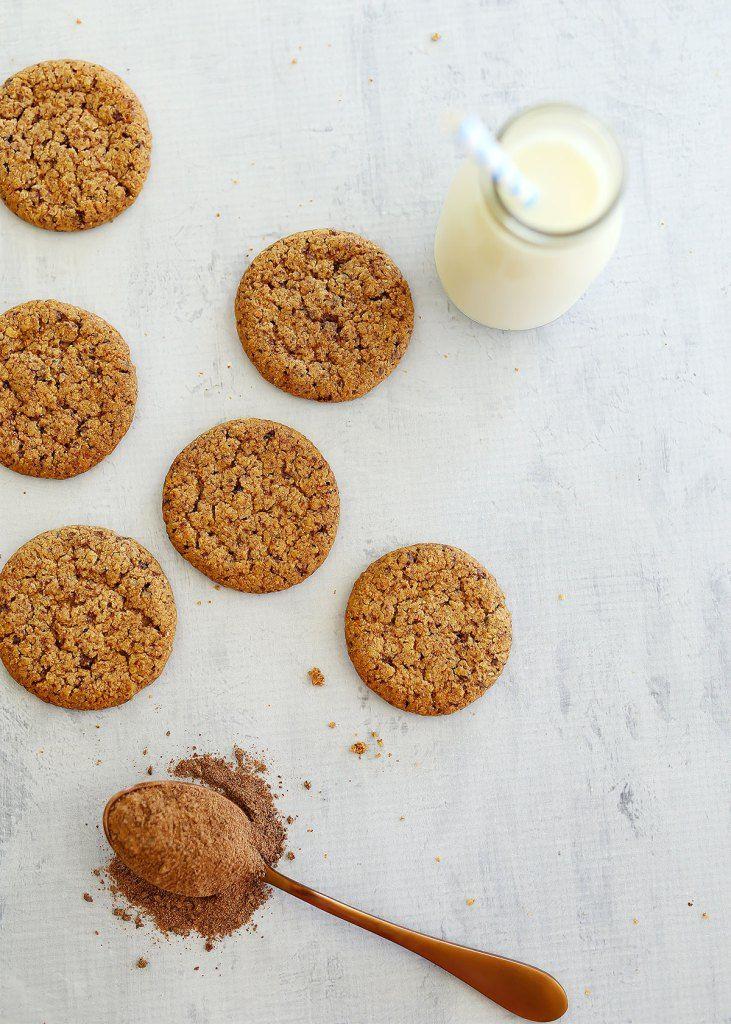 Crunchy Ovaltine Biscuits