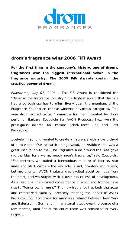 DROM Fragrance
