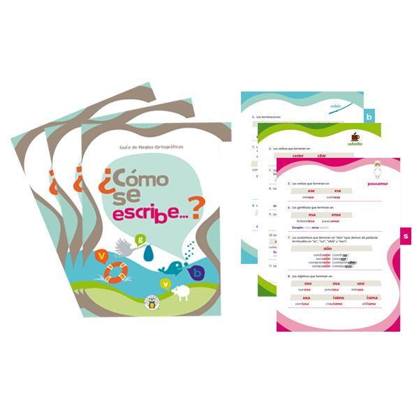 Pack Guia Ortografica -> http://www.masterwise.cl/productos/14-lenguaje-y-comunicacion/120-pack-guia-ortografica