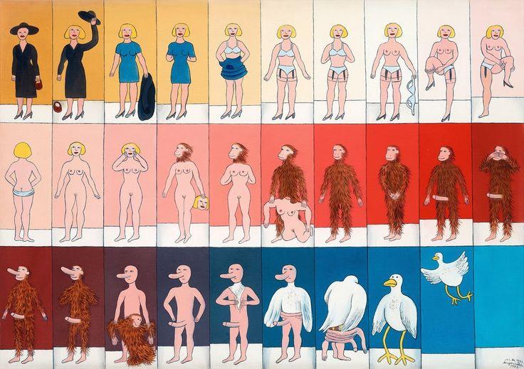Marie-Louise Ekman - Striptease (1973)