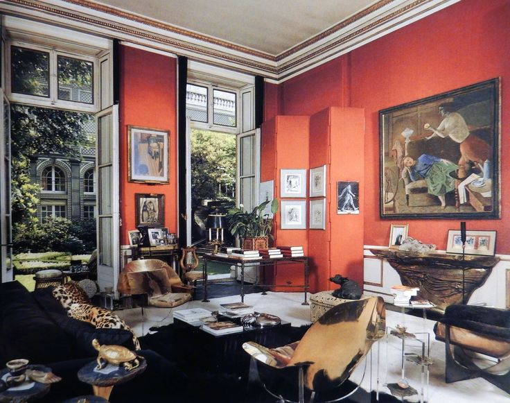 Henri Samuel. This Is A Wonderfully Eclectic Room In Samuelu0027s Paris Home. I  Like