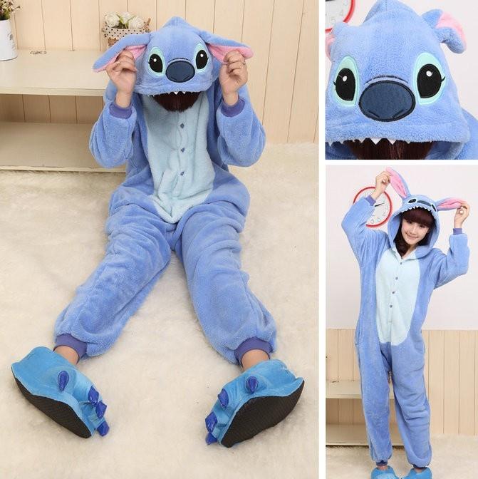 PajamasBuy - Onesies Hoodie Blue Stitch Animal Costume Kigurumi Pajamas Sleepwear, $23.00 (http://www.pajamasbuy.com/onesies-hoodie-stitch-cosplay-costume-coral-fleece-pajamas-christmas/)