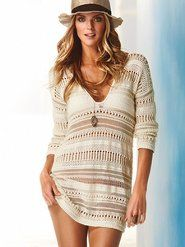 love teh hat! would wear the sweater as a sweater...not a dress...but luv the sweater too...both groovy