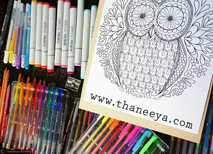 17 Best Images About Coloring Design Originals On