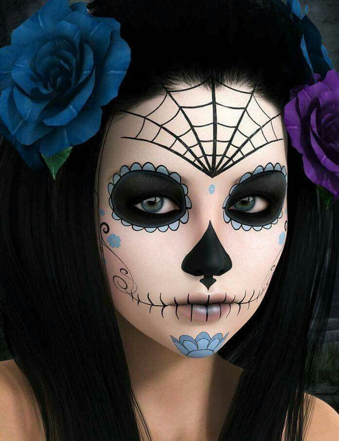 96 best Maquillaje fantasía. images on Pinterest   Halloween ...