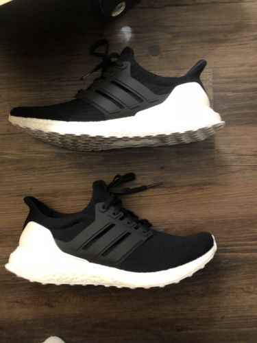 Details about Adidas Running Ultra Boost Orca Black White Ultraboost ... f99eda9fc