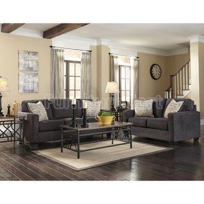 Alenya Charcoal Living Room Set Ashley Furniture Sale Pinterest Charcoal Living Rooms