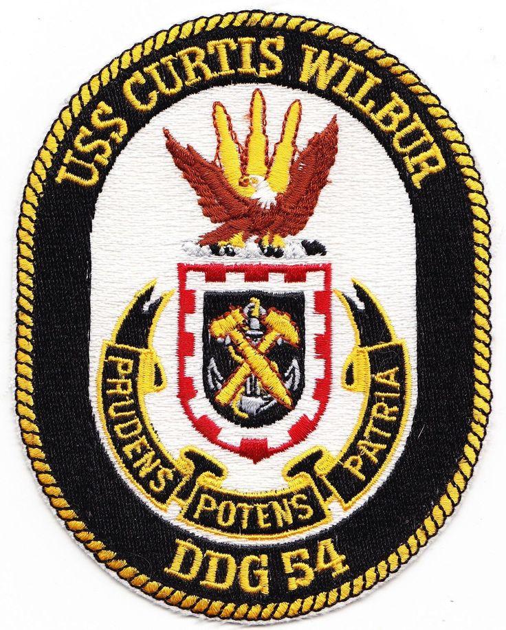 USS Curtis Wilbur DDG-54 USN Original