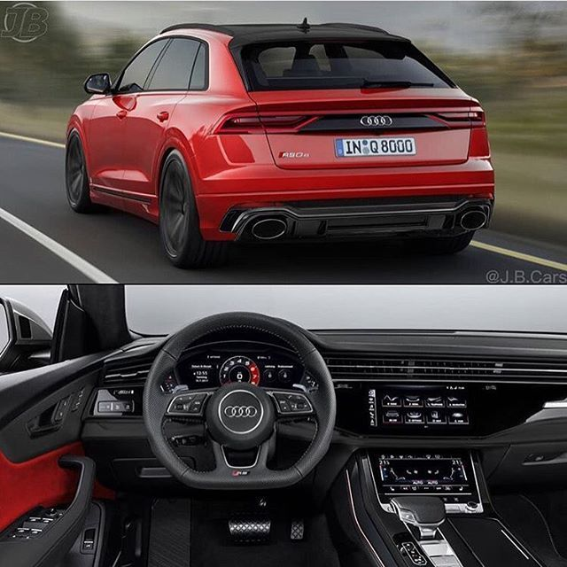 Audi Rsq8 Render Does Your Beat Faster 4 0l V8 Biturbo Hybrid