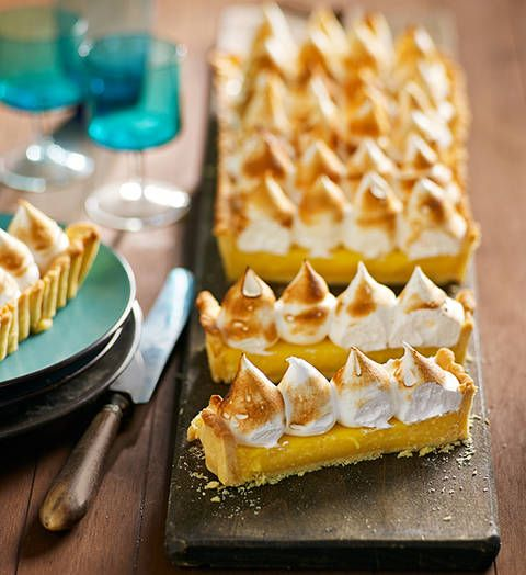 Lemon meringue pie: Well hey, good looking! This gorgeous dessert is easy to create. It'll be the star of the Sunday lunch table – as will you