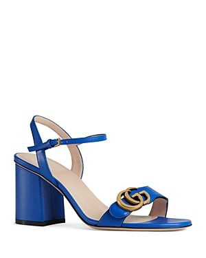 05c96f5ad4f28 Love this by GUCCI Women S Marmont Leather Mid Heel Sandals