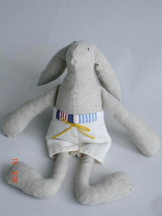 sea side bunny by Hipolita on Etsy, $15.00