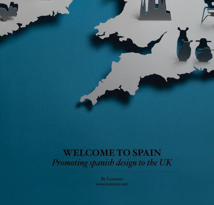 Spanish Design in the UK Poster (Print) by Lo Siento Studio, Barcelona