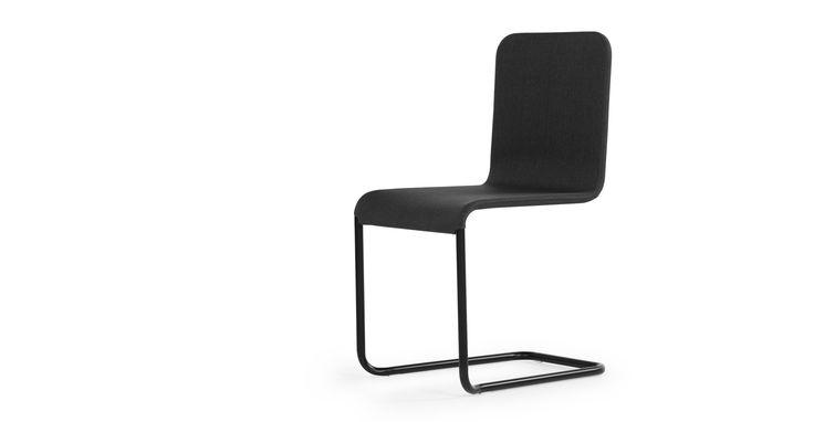 Ricci Cantilevered Chair, Umbra Grey