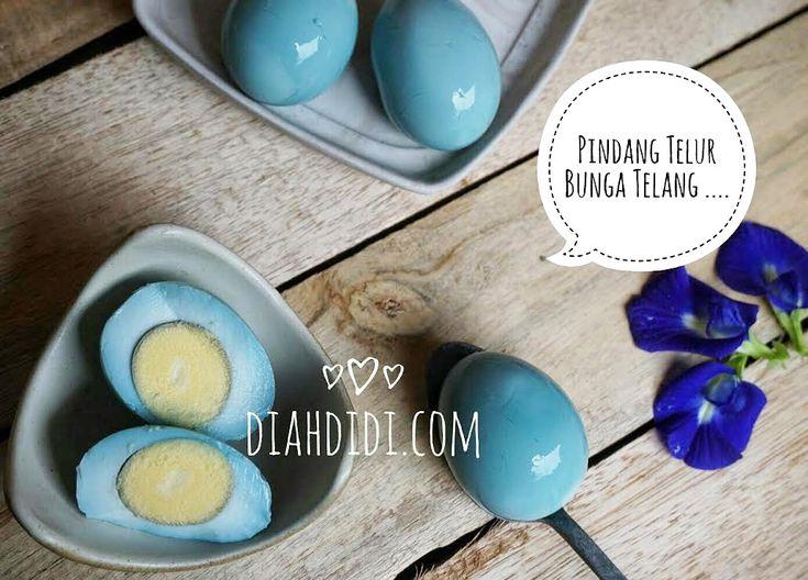 Diah Didi's Kitchen: Pindang Telur Bunga Telang