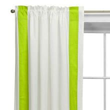 Bacati Valley of Flowers Curtain Panel