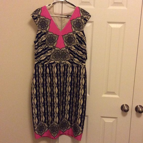 David Meister Dress I DONT TRADE Damaged pictured in theirs photo THIS IS MY LOWEST. NWT David Meister Dresses