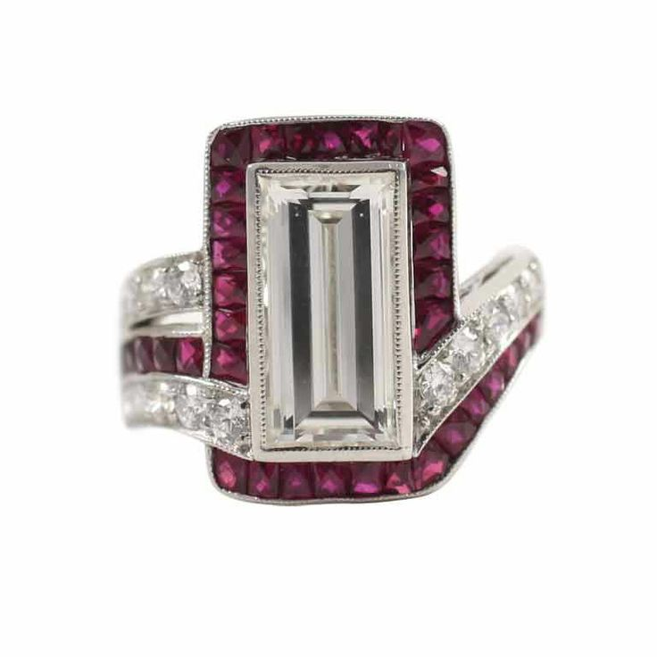 1stdibs - Exquisite Ruby and Diamond Ring explore items from 1,700  global dealers at 1stdibs.com