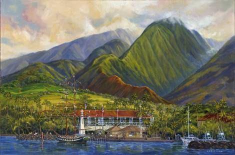 """Carthaginian Aloha"" by Janet Spreiter at Maui Hands"