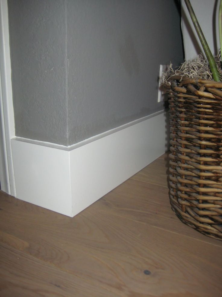 Wall Perks - instead of the expected beaded board, run a strip of 1-inch-thick molding from floor to ceiling between a room's crown molding and baseboard. Description from pinterest.com. I searched for this on bing.com/images