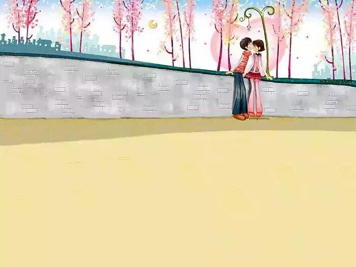 mage Description : Digital illustration, illustration artwork, South Korean Piainter,Cartoon illustrations, Sweet Kissing Lovers - Lovely Korean Cartoon Illustrations 、Lovely Korean Cartoon Illustrations, Peaceful ,dreamy, softness style, pastel color, Art illusration, Korean Style cartoon illustration, Korean Style Anime Illustration,