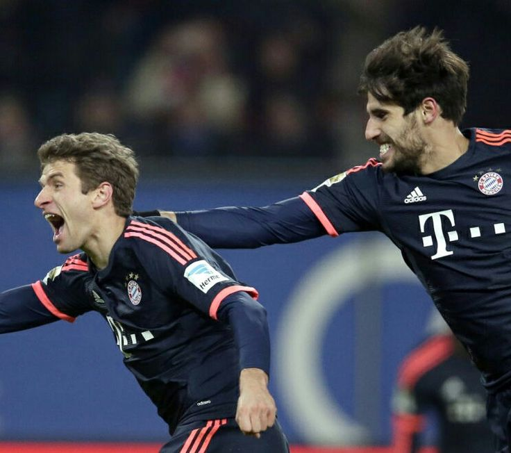 Fc Bayern München \ Javi Martinez \ Thomas Müller