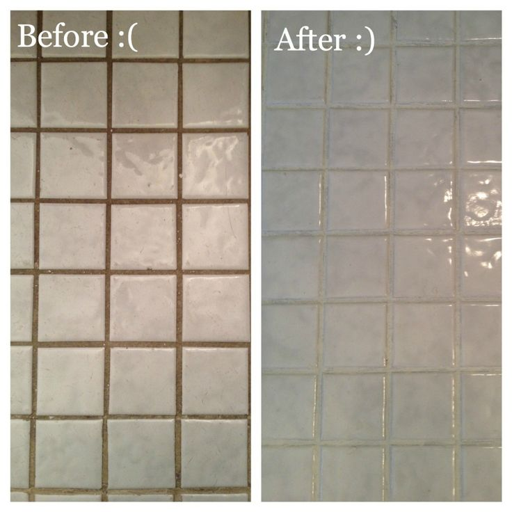 Bleach For Cleaning Bathroom Tiles