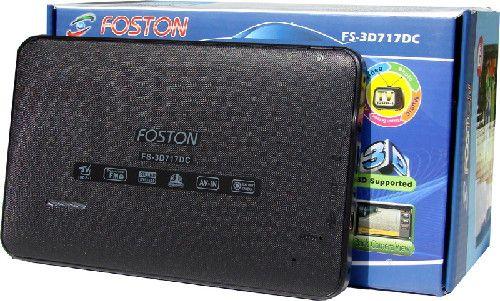 Gps Foston Fs-3D 717 Câmera de Ré - Tv Digital - Tela