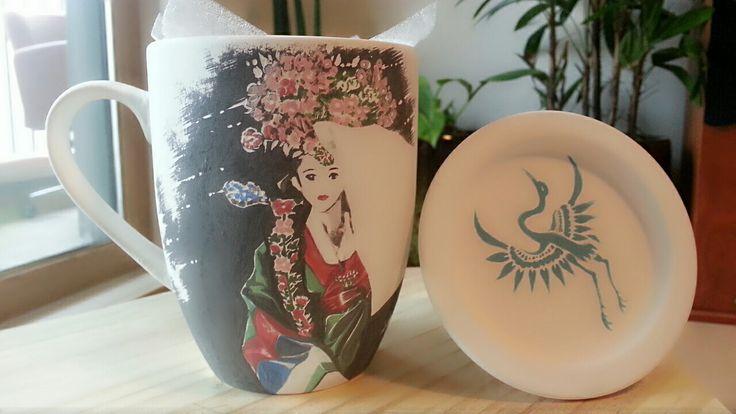Korea mug cup