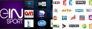 beIN Sports Turkey Arab France m3u channels