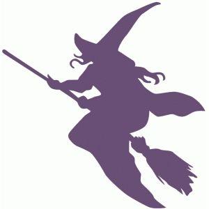 Silhouette Design Store: witch silhouette