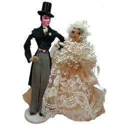 Wedding Cake Topper, 1930s www.celebrationsbykat.com