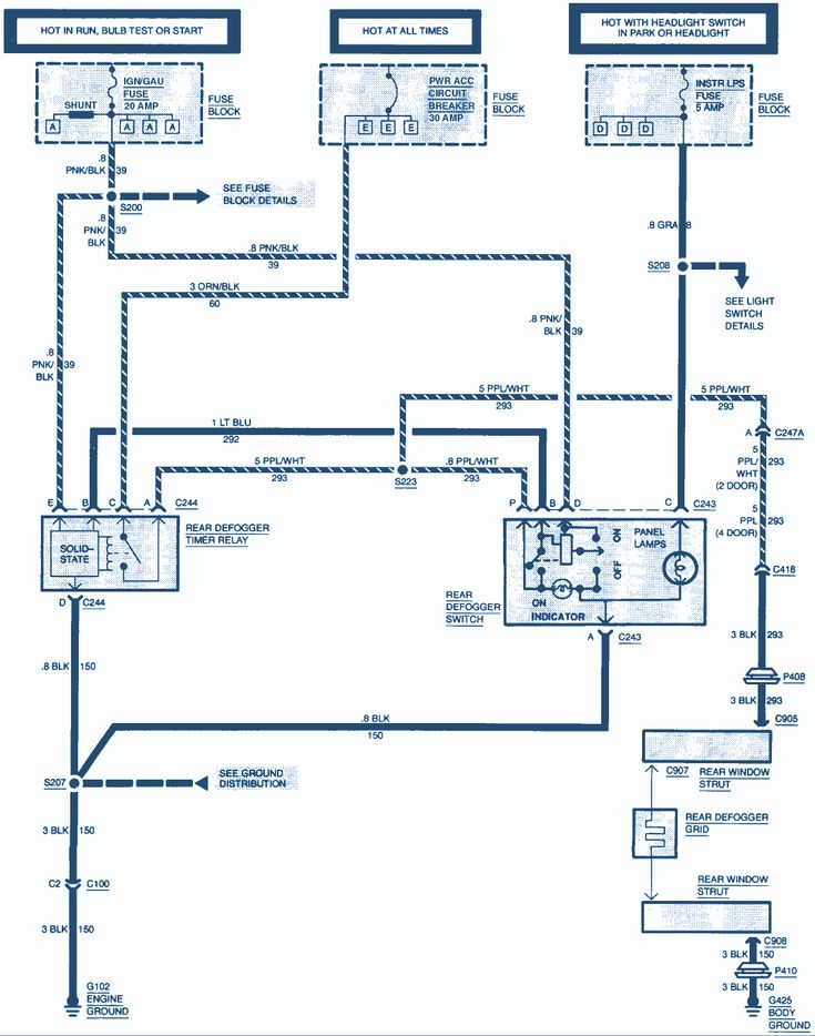 2002 Trailblazer Wiring Diagram