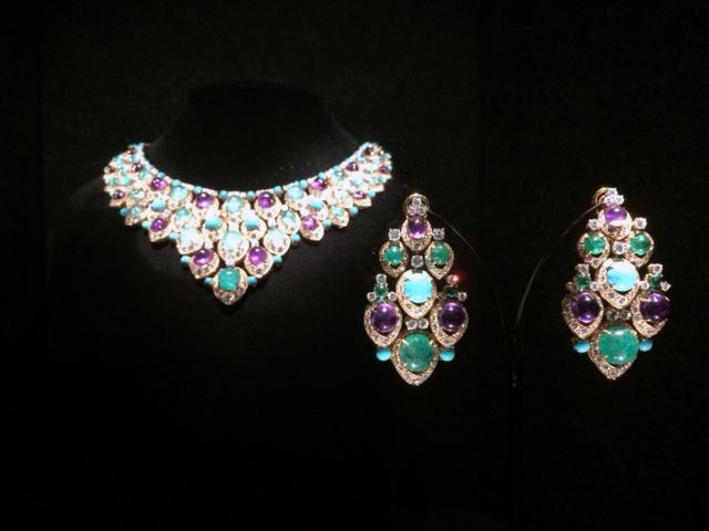 National Gallery of Victoria – Italian Jewels Bulgari Style Exhibition.