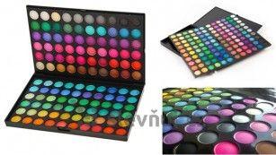 obrázek Profesionální paleta očních stínů - 120 barev