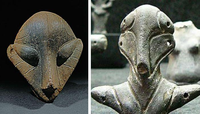 Mysterious Serbian Vinca Culture Figurines