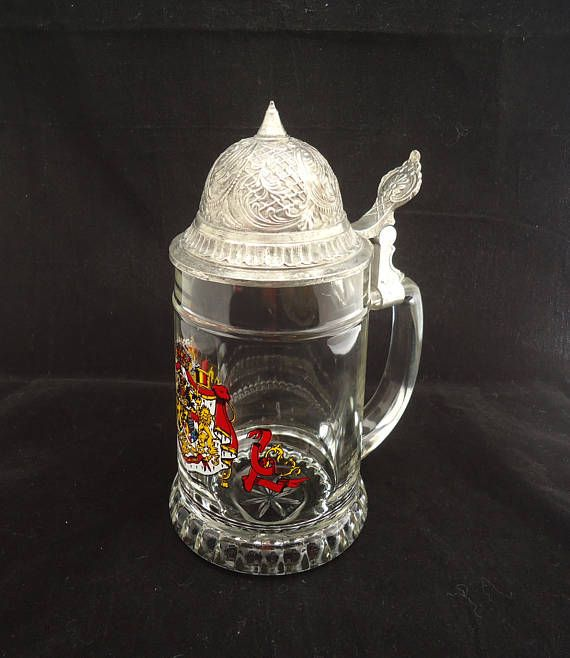 Vintage German Beer Stein Beer SteinWestern German Lidded