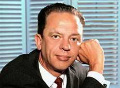 Don Knotts (1924–2006)  He joined the U.S. Army at age 19 and went on active duty on June 21, 1943. He served for the duration of World War II and was discharged on January 6, 1946 with the rank of Technician Grade 5, which was the equivalent of a Corporal. He was awarded the WWII Victory Medal, Philippine Liberation Medal, Asiatic-Pacific Campaign Medal (with 4 bronze service stars), Army Good Conduct Medal, Marksman Badge (with Carbine Bar) and Honorable Service Lapel Pin.