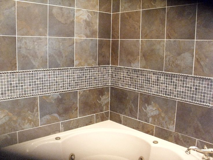 Tile tub surround tile tub surround shower vanity backsplash superior stone design - Tile shower surround ideas ...