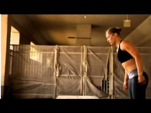 Ronda Rousey vs. Miesha Tate 2: Rousey strength & Conditioning workout - YouTube