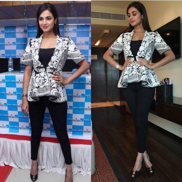 Sonal Chauhan at Maxvision Eye Hospital