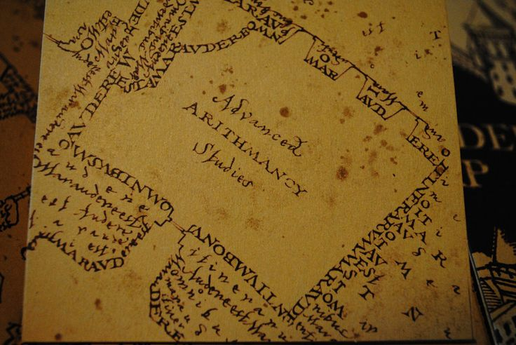Marauders Map Footsteps | www.imgkid.com - The Image Kid ...