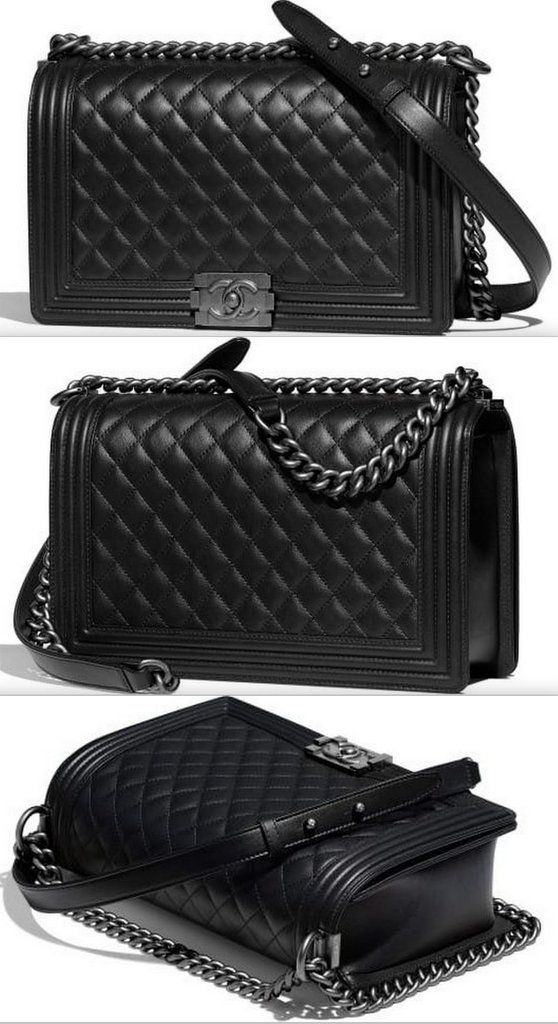 7b8384f4fc9b Boy Large Quilted Handbag Quilted Handbags, Canvas Backpack, Chanel Boy Bag,  Birthday List