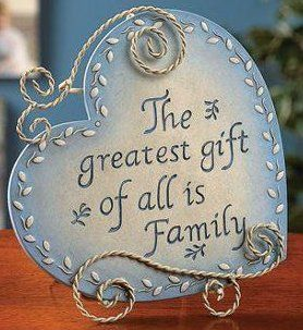 How blessed is one who has a family! www.all-things-family-reunion.com/family-quotes.html