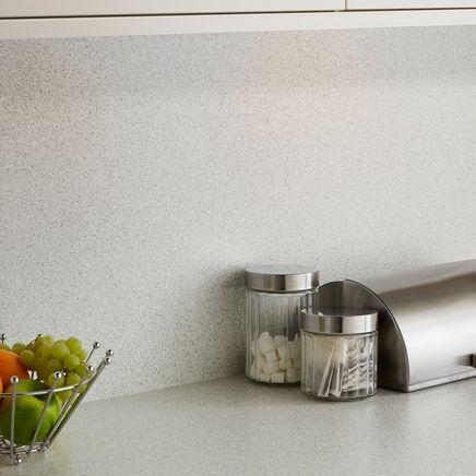 Quartzstone White Smooth backboard